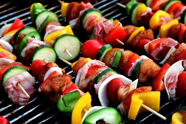 ShisKebab on a grill